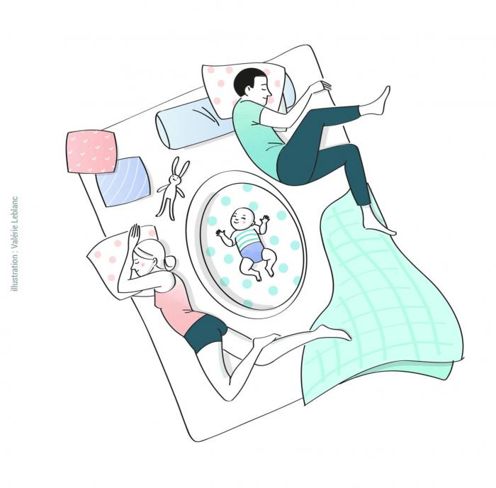 co-sleeping-bebe