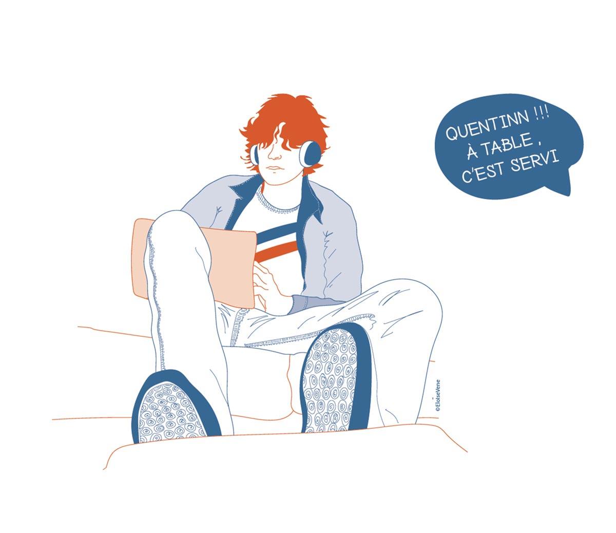 illustration article adolescent